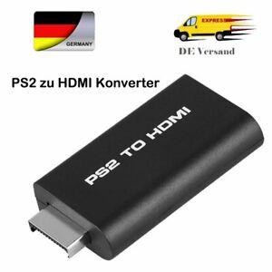 PS2 auf HDMI Adapter Audio Konverter HD TV Video Kabel für Sony Playstation 2 DE