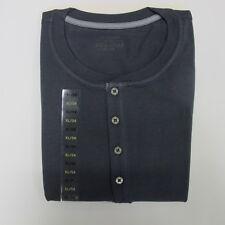 Schiesser Schlafanzug Oberteil Einzelstück kurzarm Gr. XL/54 Anthrazit UVP 29,95