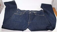 LEVI'S 501 BUTTON FLY DARK WASH DENIM JEANS MENS SIZE W40 X L34 Great Condition!