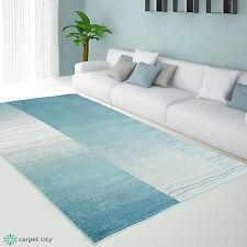 Teppich Modern Designer Wohnzimmer Inspiration Sway Karo Grau Beige Blau NEU