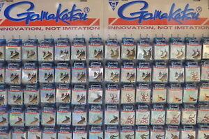 Spro Gamakatsu Forellenhaken LS-3610N gebundene Angelhaken Vorfach