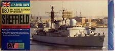 """Pit-Road SP-2: HMS Destroyer """"D80 Sheffield"""", Wasserlinienmodell in 1/700, N E U"""