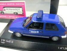 1/43 Minichamps VW Golf II THW 400054190