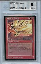 MTG Legends Firestorm Pheonix BGS 9.0 (9) Mint Magic WOTC card 4758