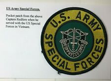 More details for us army special forces cloth badge patch de'oppresso liber