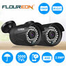 FLOUREON 1080P 2.0MP 3000TVL NTSC Outdoor CCTV DVR Security Camera Night Vision