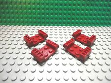 Lego 4 Dark Red 2x4 mudguard with grill car truck
