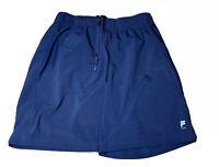 Fila Sport Men's Navy Blue Athletic Running Workout Shorts Size M MEDIUM