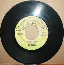 IMPACTS **Thunder Chicken** BROWN FINGER Soul Funk 45 on MARMADUKE RECORDS 4002