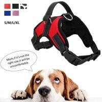Pet Dog Vest Harness No Pull Adjustable Breathable Comfy S/M/L/XL Walking