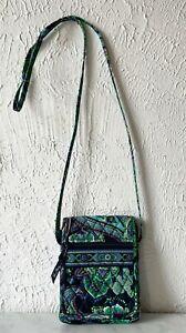 Vera Bradley Mini Hipster Crossbody Bag Blue Rhapsody Retired Pattern