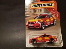 MATCHBOX BMW M5 FIRE RESCUE 2018 ISSUE