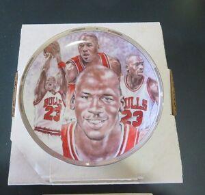 Michael Jordan 1991 Sports Impressions NBA Collectors Plate, 1823/5000 MINT