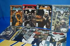Comics-Lote 8 numeros PUNISHER-EL CASTIGADOR-marvel comics