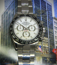 Rolex Daytona Steel & Ceramic Chronograph Watch & Box  M 116520