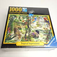 NEW Ravensburger Tropical Impressions Forest 1000 Piece Jigsaw Puzzle Sealed