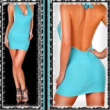 NEU seXy HOT MINIDRESS/Kleid CLUBWEAR misS Kylie! TÜRKIS