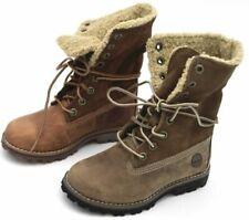 Chaussures marrons pour garçon, cuir