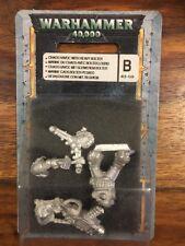 Chaos SPACE MARINE CAOS pesante rivestimento adesivo con NUOVO BLISTER METAL OOP Warhammer 40k