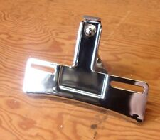 HARLEY LICENSE PLATE BRACKET '74/Up Sportster/Dyna/FL Softail/FXR/FXE/FLH NOS