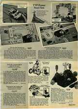 1976 PAPER AD TTP Stunt Evel Knievel Cycle Dragster Skull Canyon Tonka Nylint