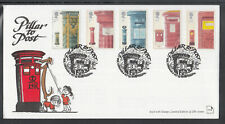 Great Britain FDC 2002 - Pillar to Post