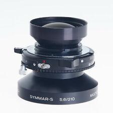 Schneider 210mm F5.6 Symmar S MC Large Format Lens