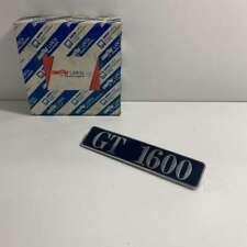 """Emblème Modèle """" Gt 1600 """" Lancia Delta Original 82400071"""