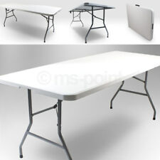 Klapptisch 180 Gartentisch Tisch klappbar für 6 Personen, Camping Tisch Terrasse