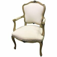 20th Century Louis XVI Carved Mahogany Armchair