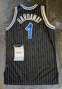 ANFERNEE PENNY HARDAWAY Magic SIGNED Authentic Champion Jersey Upper Deck COA 97