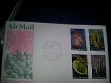 PNG 1983 - CORALS -Definitive issue stage 3 FDC