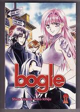 Bogle # 1 Shino Taira & Yuko Ichiju (2008-Teen Manga) Sc ~Cat-burglar~