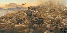 """Sky Soldiers in Contact"" James Dietz Print - Operation Enduring Freedom"
