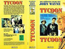 (VHS) Tycoon - John Wayne, Laraine Day, James Gleason, Anthony Quinn (1947)