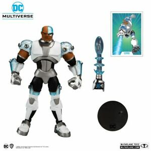 DC Comics Multiverse Animated Teen Titans Cyborg 7 Inch Action Figure