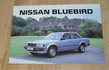 NISSAN Bluebird BROCHURE 1984 1.8 Turbo SGL GL DX