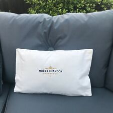 MOET & CHANDON CHAMPAGNE CUSHION COVER - IDEAL FOR CONSERVATORY OR GARDEN