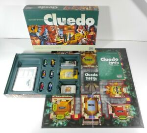 Cluedo The Classic Detective Board Game Parker 2003 100% Complete Family Fun