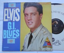ELVIS PRESLEY G.I. Blues VG++ to NM- CANADA ORIG 1960 MONO OST LPM-2256 LP
