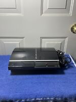 Sony PlayStation PS3 Model CECHL01 160GB Game Console Black