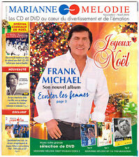 RARE SHEILA FRANK MICHAEL MARIANNE MELODIE MAGAZINE NOVEMBRE NOEL 2016 herge
