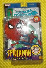 New Marvel Spider-Man Classics Red Blue Costume Action Figure Toy Biz issue 301