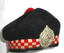 ARGYLL & SUTHERLAND HIGHLANDERS BALMORAL HAT. Circa.1939/45