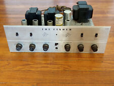 Fisher X-100-B Tube Stereo Integrated Amplifier with Phono - Works, Needs Tubes