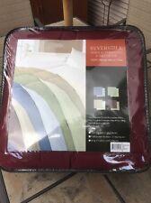 Kohl's Down Alternative Reversible Comforter Cordavan/Khaki Full/Queen 86x86