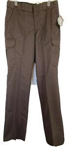 Elbeco Mens 35R (unhemmed) Dark Brown Tek3 Series Cargo Uniform Pants E615RN NWT