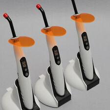 heiß!3 SETS Dental Cordless LED Curing Light Lamp 1400mw 5W Orthodontics T4