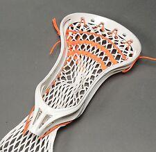Warrior Swarm Lacrosse Head Strung White/Orange LAX X Spec (NEW) Lists at $99.99