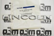 "2006-2008 Lincoln Mark LT Nameplate Emblem ""LINCOLN"" new OEM 5L3Z-9942528-AC"